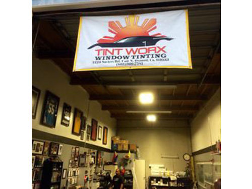 VEHICLE WINDOW TINTING STARTING at 25 We have 20 years experience and are locally owned and opera