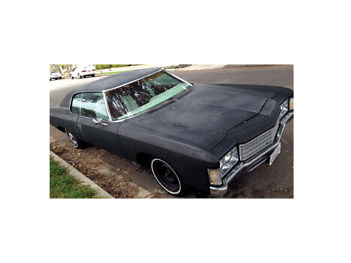 1971 CHEVROLET IMPALA 400 small block engine runs great super clean interior under 100k miles 60