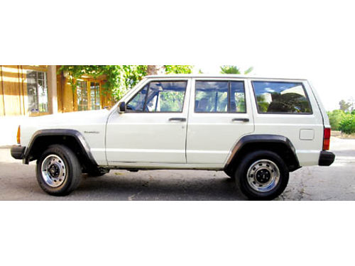1986 JEEP CHEROKEE - 4cyl 5spd 2WD ac cd orig owner xlnt cond call for price