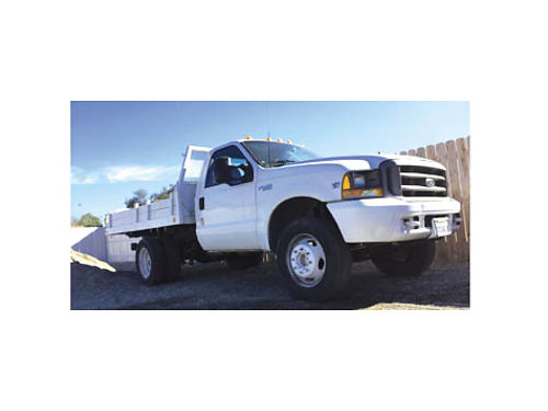 1999 FORD F450 SUPER DUTY - Diesel 73L runs good 257K miles 6200