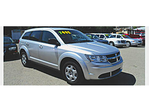 2009 DODGE JOURNEY - Auto 4 cyl PW PL CD AMFM tilt AC 116481 REDUCED 5995 KARS with a K