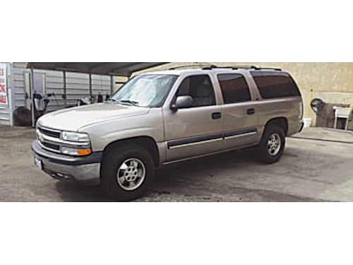 2001 CHEVY SUBURBAN - 4x4 mint condition one owner 0659271041 6995 Bad or No credit Matricul