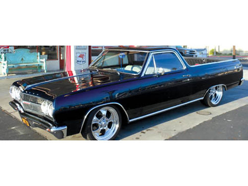 1965 CHEVY EL CAMINO -350383 engine 350 transmission 5800 AC unit too much to list  no rust 6