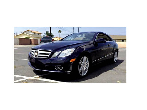 2010 MBZ E350 COUPE - Fully loaded beige heated leather 65K miles well mainta
