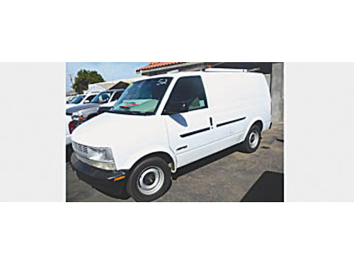 2000 CHEVY ASTRO - 0720219579 3995 Bad or No credit Matricula OK SBCARCO 1001 West Main Street