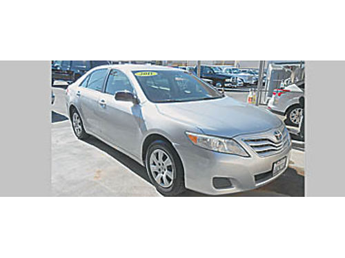 2011 TOYOTA CAMRY - 4 cyl 096157 10995 Bad or No credit Matricula OK SBCARCO 1001 West Main