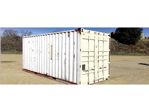 CARGO WORTHY CONTAINER 20 Xlnt cond wind water rodent tight Good doors floors  roof 1650