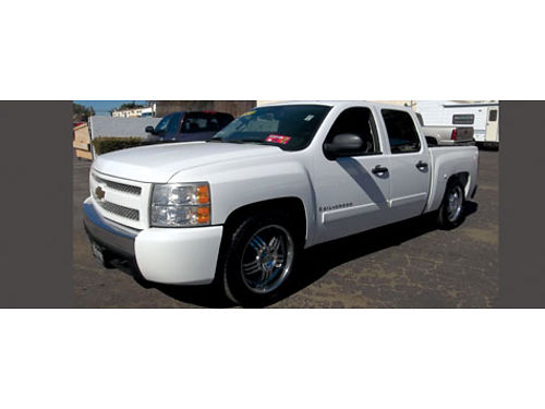 2007 CHEVY SILVERADO DOUBLE CAB - fully loaded all power clean Carfax extra clean bedliner cust