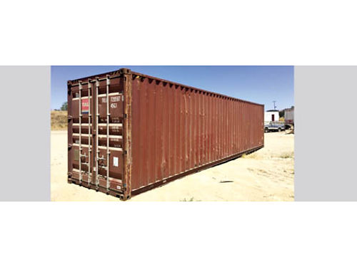 40 WIND  WATER TIGHT HIGH CUBE STORAGE CONTAINER good cond 1600