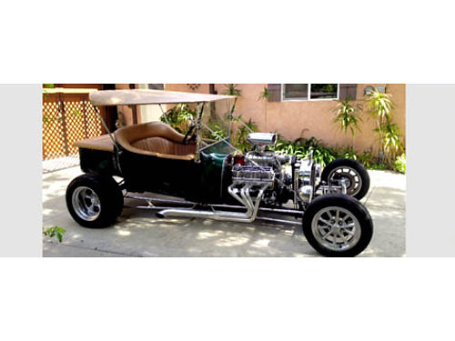 1925 FORD T-BUCKET everything brand new 65K invested only 2800 miles 383 ci 430 HP to rear wh