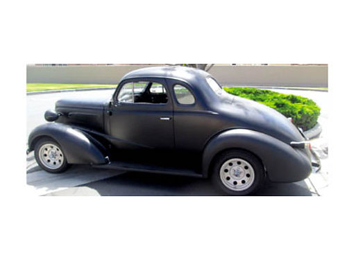 1937 CHEVY BUSINESS COUPE - 350 eng 350 turbo hydro trans Edelbrock 650 CFM perf carb stock GM el