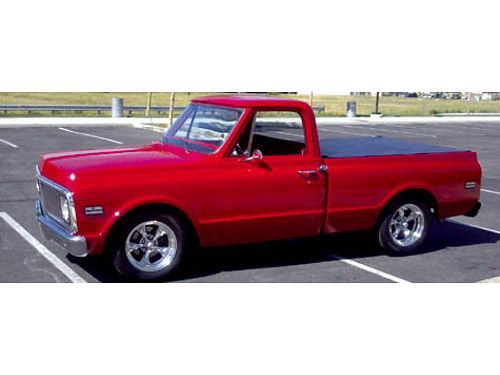 1972 CHEVY C10 auto fully redone 350 ci with only 100 mi on eng 400 trans 95 restored shortbed
