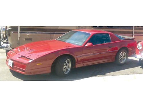 1986 PONTIAC TRANS AM almost a virgin PPG WO Kit 5OHO many options 10500 obo