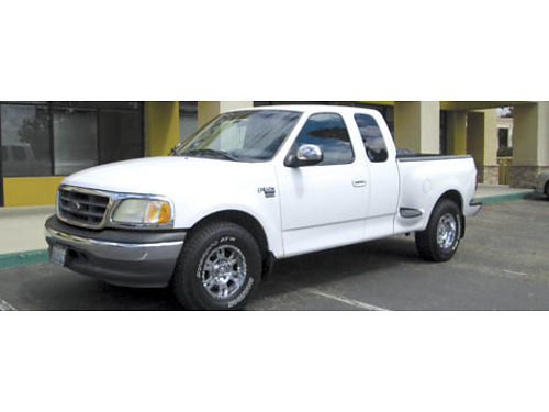 2002 FORD F150 EXT CAB XLT 4dr Stepside Sport V8 auto all pwr 6 CD AC alrm 159K mi new ti
