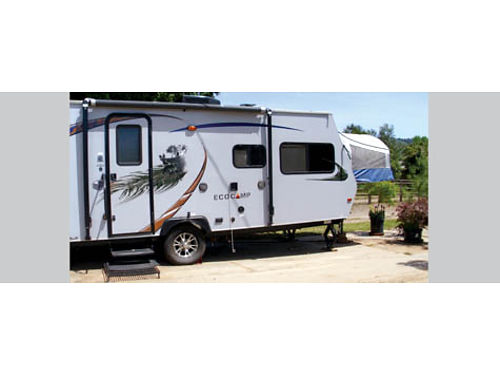 2013 KOALA TRAVEL TRAILER 18 Eco-Camp dual pop tent sleeps 5-6 full bathroomlg shower kitch