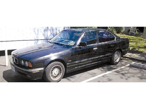 1995 BMW 525I auto leather snrf AC all power smogged all original new tires  battery daily