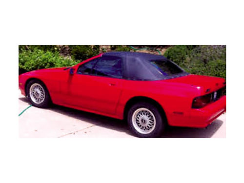 1990 MAZDA RX7 CONV - 5spd manual 64K original miles fantastic cond everything works AC cass