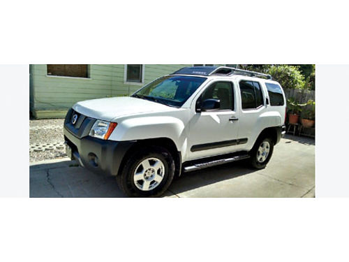 2006 NISSAN XTERRA 4x4 Pro auto V6 4L 1 owner fully loaded good orig cond white new tires