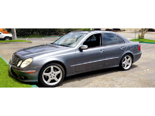 2006 MBZ E350 SPORT - V6 fully loaded AMG appearance pkg 103K miles clean