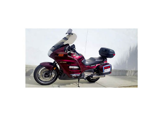 2002 HONDA ST PAN EUROPEAN 1100 - 4cyl non ABS new batt  reg 50K mile service done all recpts r
