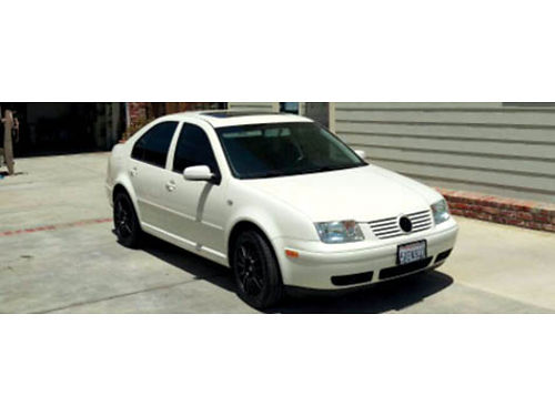 2003 VW JETTA GLS EURO - PKG 4cyl 18T 5spd man 83K mi fully loaded recent