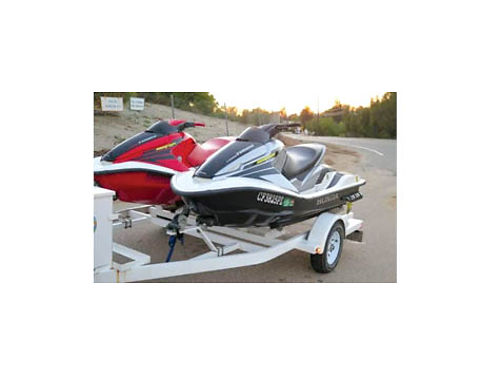 HONDA JET AQUA TRAX - 0304 trailer included well maintained fresh water only no salt 4 stroke