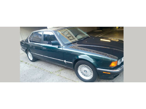 1994 BMW 740IL auto V8 leather sunroof 4dr well maint all pwr straight interior and ext run