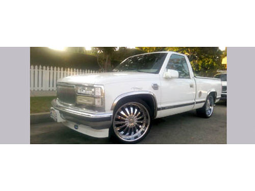 1998 GMC SIERRA 1500 57 engine 120K auto new Flowmaster Intake remote start lowered 22 rims
