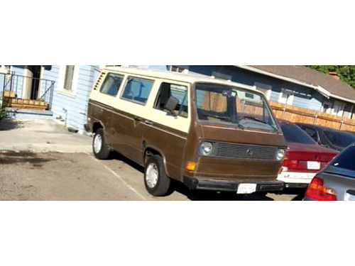 1981 VW VANAGON brand new engine and prof new paint job good working cond new tires and brakes s