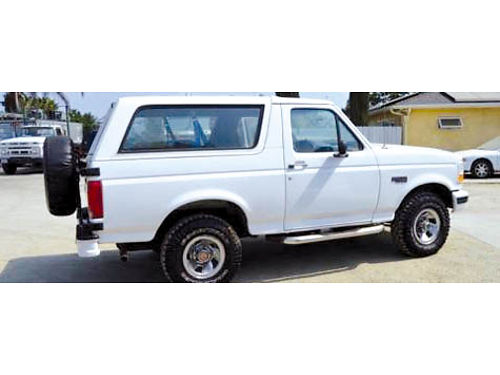 1995 FORD BRONCO 4X4 auto V8 everything works beautiful great cond too many updates to list st