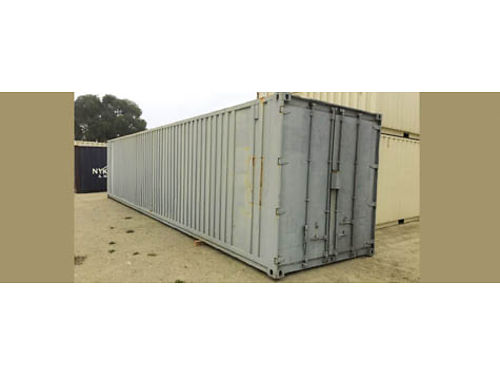STORAGE CONTAINER 40 located in Solvang CA needs some work 1000
