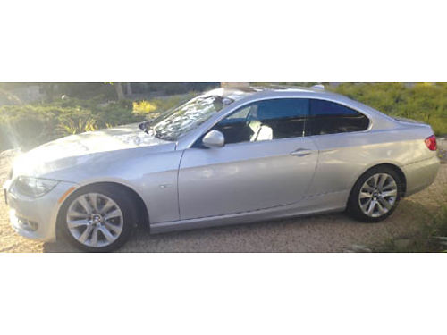 2011 BMW 328I CPE auto 6 cyl 37K mi snrf fully loaded lthr AC CD prof well maint Muller  G