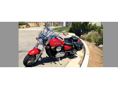 2005 KAWASAKI VULCAN 1600 low miles 6200 miles never fallen well maint dual seat runs great