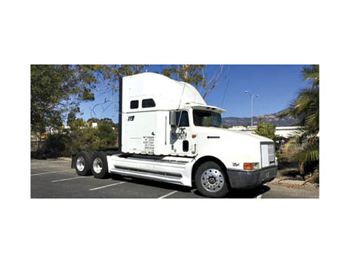 1996 INTERNATIONAL EAGLE - Cummins Diesel 400 18 spd Sleeping Cab wtwo beds well maint runs goo