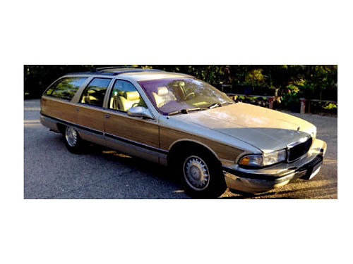 1995 BUICK ROADMASTER ESTATE - Wagon 87K miles 350 CI V8 full power and ac 7999 obo