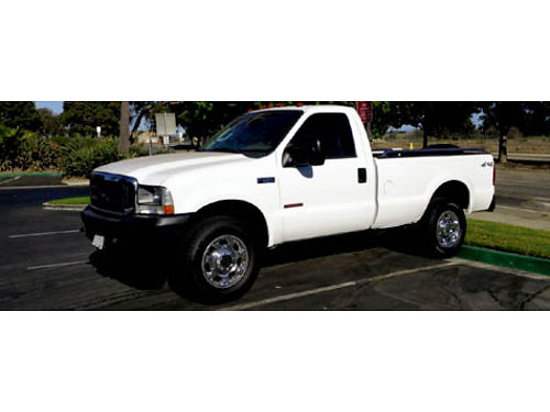 2003 FORD F250 XL - 4X4 60 Diesel auto 129K miles new whls and Michelin tires runs great 850