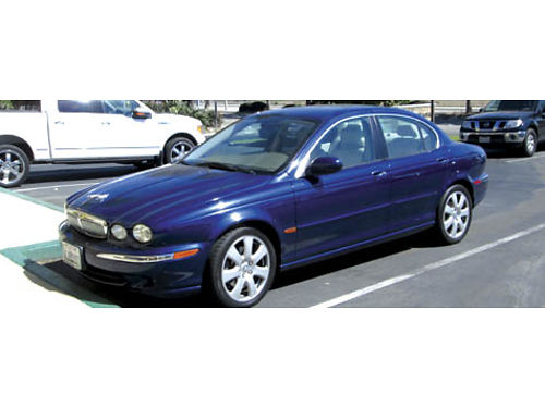2005 JAGUAR X TYPE 4dr auto 84K mi Navi rear back up sensor cctilt AC all pwr CD lthr int