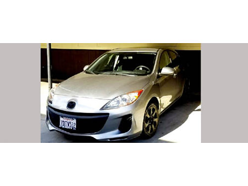 2013 MAZDA 3 5 spd 4cyl all power AC CD 32K mi 4dr well maint orig owner new tires very c