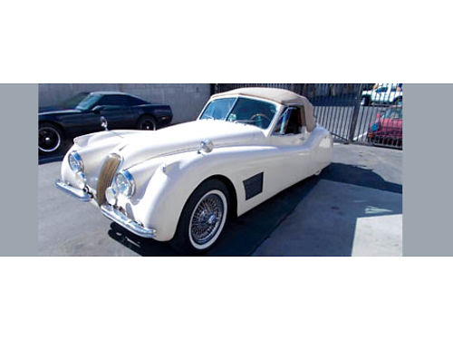 1953 JAGUAR XK120 DROP HEAD COUPE - ps pdb 700R pw ac Corvette eng SOFA KING fast 50yr build
