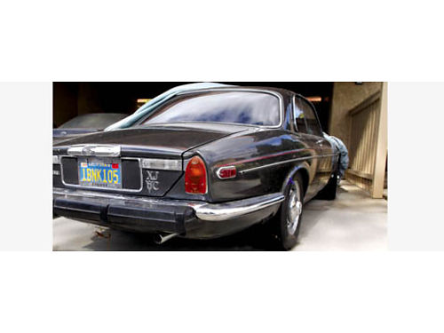 1975 JAGUAR XJC - Rare 2 door hardtop Chevy V8 Chevy auto trans perfect body perfect chrome 1