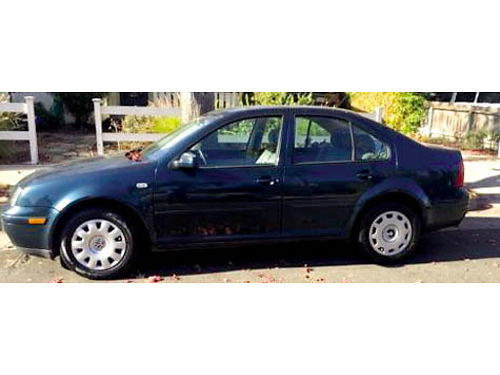 2001 VW JETTA auto 4cyl 4dr AC stereo well maint 156K hwy miles runs great great cond just