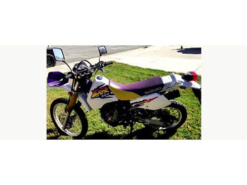 1997 SUZUKI 350 dual sport one owner new 7030 tires 9654 miles new battery current registrat