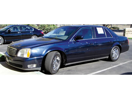 2004 CADILLAC SEVILLE auto V8 all pwr AC CD lthr well maint 143K mi new brakes oil changed