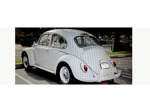 1965 VW BUG 4 spd 1600 cc dual carbed runs strong xlnt exterior headliner needs to be replaced
