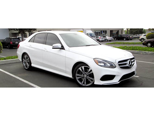 2014 MERCEDES BENZ E350 Sedan 4matic low miles loaded with all options immaculate 36500 805