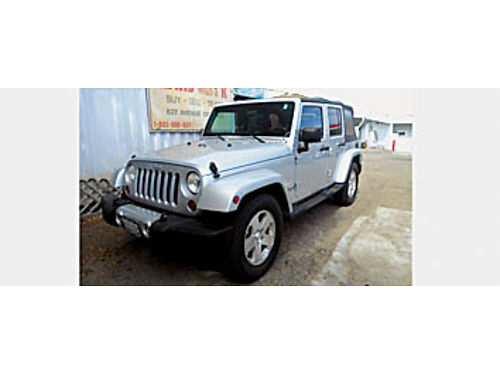 2008 JEEP WRANGLER SAHARA - One Owner 623872 16995 KARS with a K