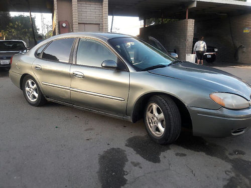 2003 FORD TAURUS auto 6 cyl all pwr AC 4dr two new tires runs good good cond in  out se ha