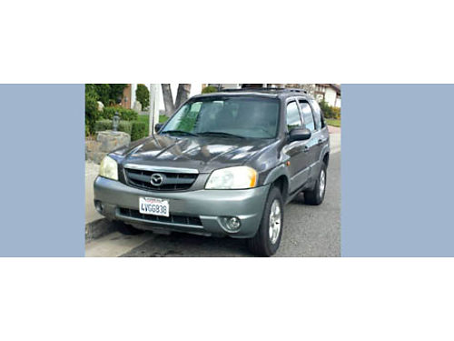 2002 MAZDA TRIBUTE auto sunroof new radiator 6cyl 5 drs all in great cond AC stereo everyth