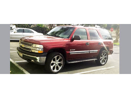 2003 CHEVY TAHOE 134K miles running boards tow hitch 1 owner runs grt full pwr 22 cstm rims