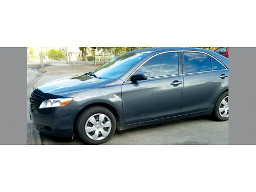 2009 TOYOTA CAMRY 140K miles power window power door locks AC charcoal w light grey int curren